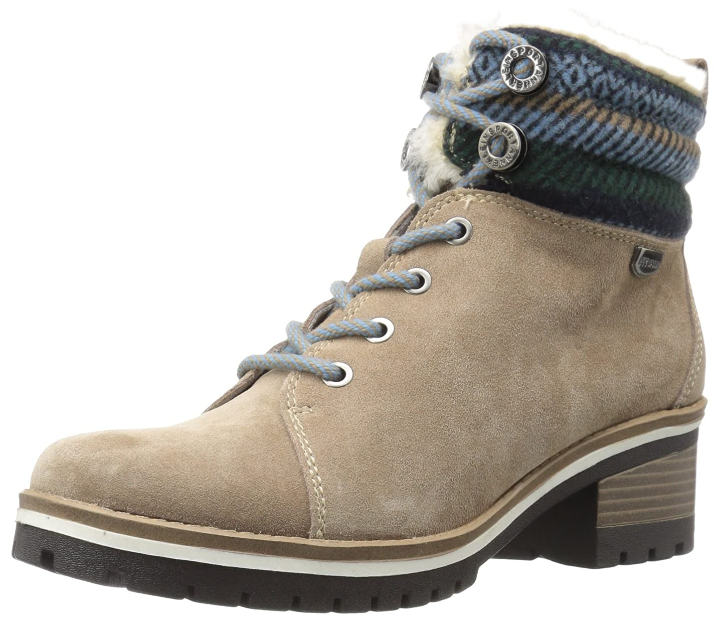 横向き広げるくAnne Klein Womens Langstyn Closed Toe Leather Fashion Boots