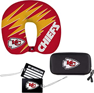 NFL Kansas City Chiefs Reise Set, 4 teilig, 33 x 7,6 x 30,5 cm
