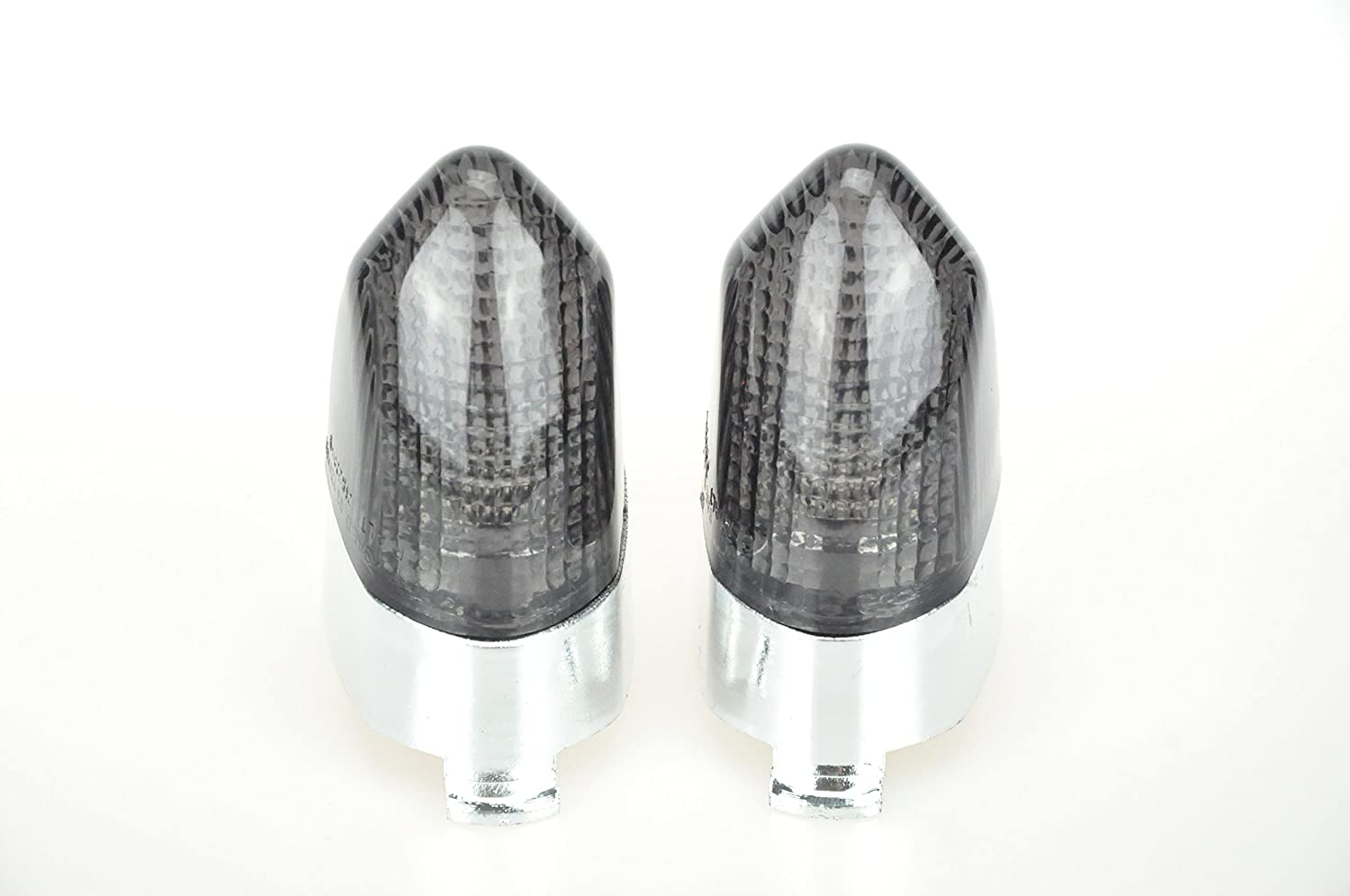 Topzone Max 66% OFF Moto Smoked Motorcycle Indicators NEW Signal K Turn Lens For