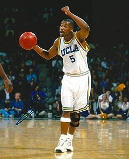 Signed Baron Davis Photograph - UCLA BRUINS 8X10 RARE COA - Autographed NBA Photos