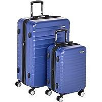 2-Piece AmazonBasics Premium Hardside Spinner Luggage (Blue)