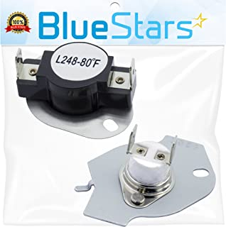 279769 Dryer Thermal Cut-Off Kit Replacement Part by Blue Stars - Exact Fit for Whirpool & Kenmore dryers - Replaces 3389946, 3398671, 3977394, 695563, AP3094224, 3390291