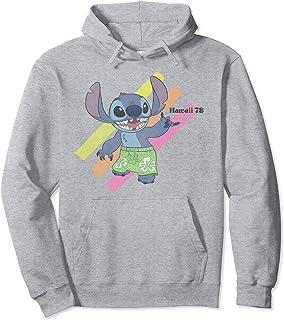 Disney Lilo & Stitch Hawaii 78 Neon Stripe Stitch Sweat à Capuche