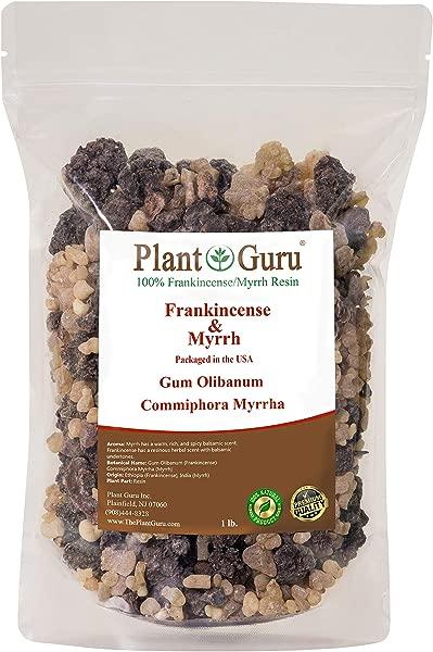 Frankincense And Myrrh Resin 1lb 100 Pure Natural Olibanum And Commiphora Myrrha Rock Incense Gum Bulk