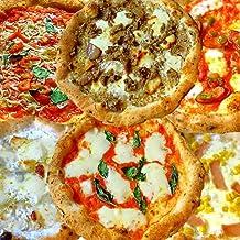 【冷凍ピザ】【冷凍ピッツァ】 太陽のピッツァ 薪窯焼き本格ナポリピッツァ 6枚全種セット(マルゲリータ、4種のチーズのピッツァ、バンビーノピッツァ、ディアボラ、ポルチーニ、しらすマリナーラ)(21cm×6枚) イルソーレ 【送料無料】