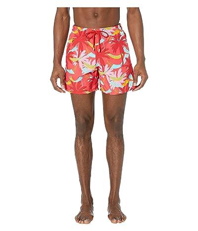 Vilebrequin Ibiza Moorea Swim Trunks (Hibiscus) Men