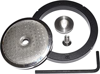 Fruition Tamp & Coffee Flat Shower Screen Upgrade Kit for The Rancilio Silvia
