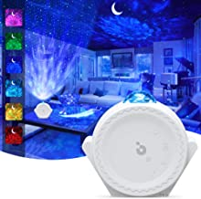 Star Projector, 3-1 Ocean Wave Projector Night Light for Kids with LED Nebula..