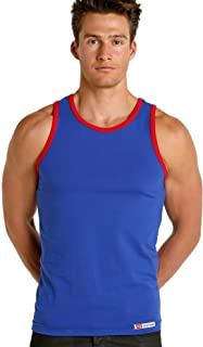 California Classic Tank Top Royal/Red