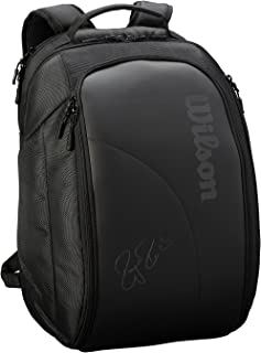 Wilson Unisex Federer DNA 2018 Backpack - Black WRZ832896, Black, One Size