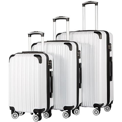 3c5430bc831b White Luggage Set: Amazon.com