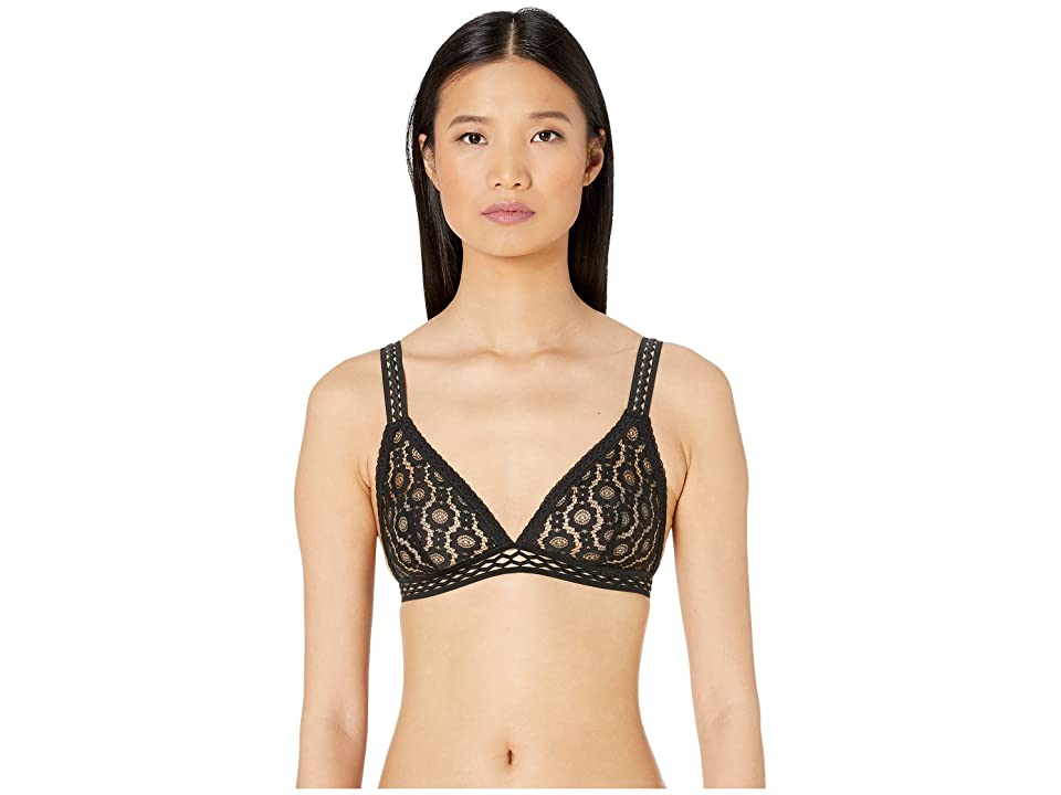Stella McCartney Mia Remembering Soft Cup Triangle Bra S6R080360 (Black) Women