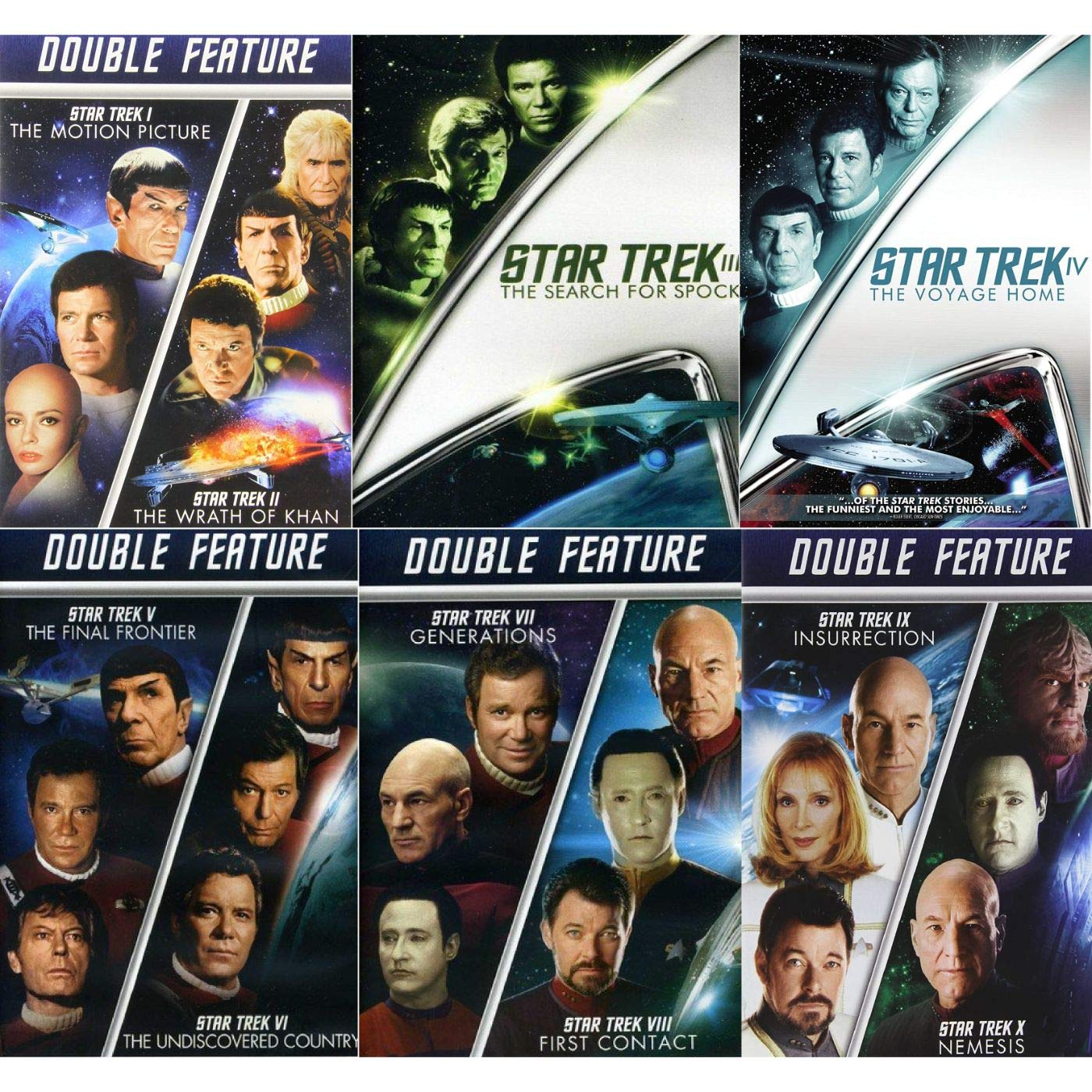 Star Trek 10 Movie DVD Collection: Wrath Kha Max We OFFer at cheap prices 82% OFF Motion Picture of