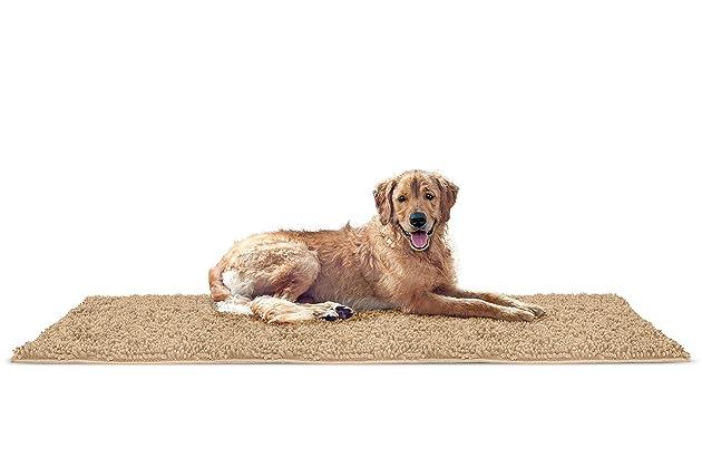 Furhaven Pet Dog Mat   Muddy Paws Towel & Shammy Rug