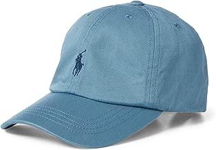 Ralph Lauren Big BOY Cotton Chino Baseball Cap Cassidy Blue Size 8-20