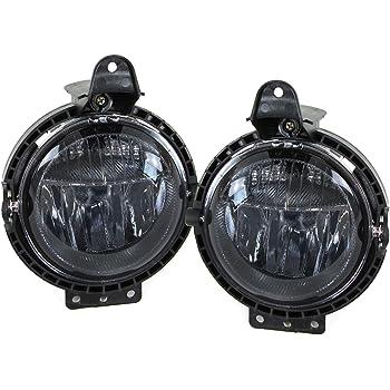 Klarglas LED Nebelscheinwerfer mit Tagfahrlicht  für Suzuki Swift III IV ab 05
