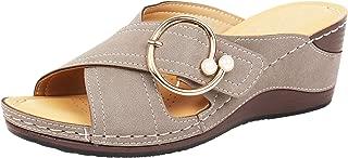 Catwalk Women's Womens Grey Wedges Sandals Grey Fashion Sandals
