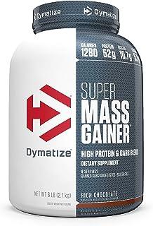 Dymatize 狄马泰斯 Mass Gainer 蛋白质粉,香浓巧克力口味,约2.7克。