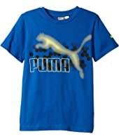 Puma Kids - Graphic PUMA® Tee Sock Set (Big Kids)