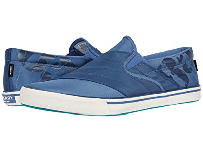 Sperry Striper II BIONIC(r) Slip-On Sneaker (Blue) Men