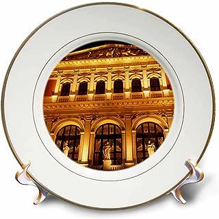 3dRose cp_75916_1 Austria, Vienna Music Hall, Philharmonic Orchestra-EU03 RDU0031-Richard Duval-Porcelain Plate, 8