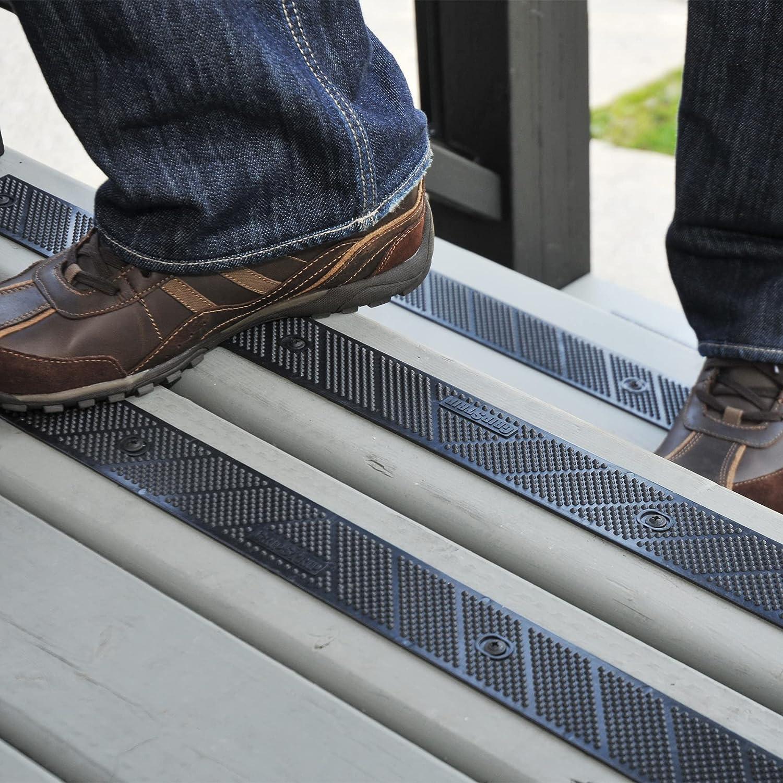 "Chicago Mall GripStrip Stair Treads L 32""x W specialty shop 2"" Screw Strip Down N"