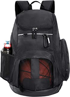 MIER Basketball Backpack Large Sports Bag for Men Women with Laptop Compartment, Best for Soccer, Volleyball, Swim, Gym, T...