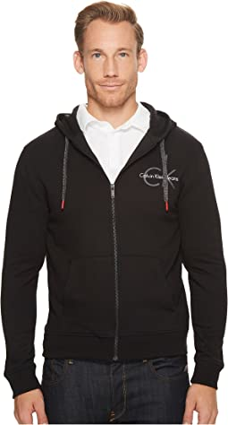 Calvin Klein Jeans - CK Logo Full Zip Hoodie