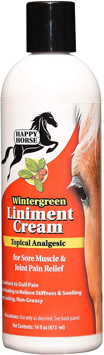 Max 85% OFF HARRIS Happy Horse Liniment Wintergreen Cheap SALE Start for Sore Cream Muscle