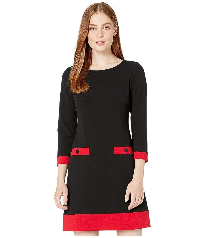Tommy Hilfiger Color Block Pocket Dress