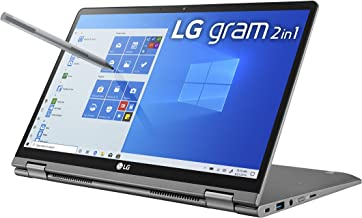LG Gram 2in1 Convertible Laptop, 14Inch Full HD IPS Touchscreen Display, Intel 10th Gen Core i710510U CPU, 16GB RAM, 1TB 5...