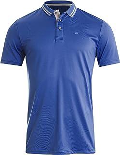 Calvin Klein Golf Men's Poly Jersey Tech Polo