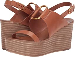 e4801fd2849e Tory burch lexington 110mm wedge sandal blush