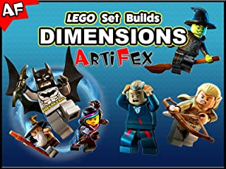 Clip: Lego Set Builds Dimensions - Artifex