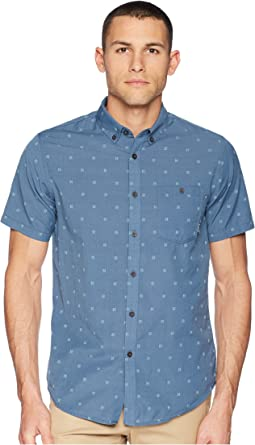 All Day Jacquard Short Sleeve Shirt