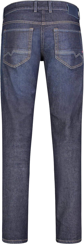 MAC Jeans Arne Pipe Jean Droit Homme Bleu (Dark Rinsed 3d H709)