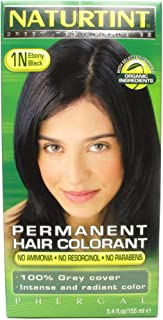 Naturtint Hair Colorant,1N, Black Ebony, 2-Pack