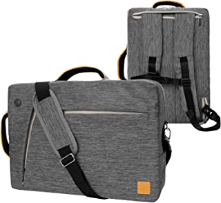 VanGoddy Convertible Grey Laptop Bag 17.3 inch Fit for MSI Raider, Mobile Workstation, X Leopard, Apache Pro, Stealth Pro, Prestige, Dominator, Titan 17.3""