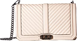 Rebecca Minkoff Chevron Quilted Slim Love Crossbody