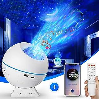 Projecteur Ciel Etoile, 27 Modes Planetarium Projecteur LED Veilleuse Enfant Rotatif 360°, Océan Galaxie Lampe Projecteur ...