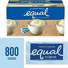 equal sugar packets