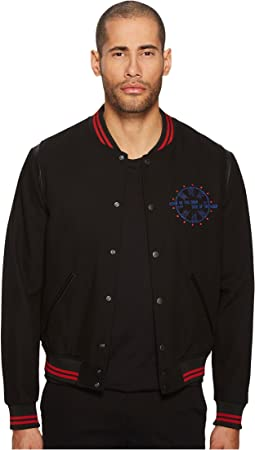 The Kooples - Teddy with Embroidery On The Sleeves Jacket