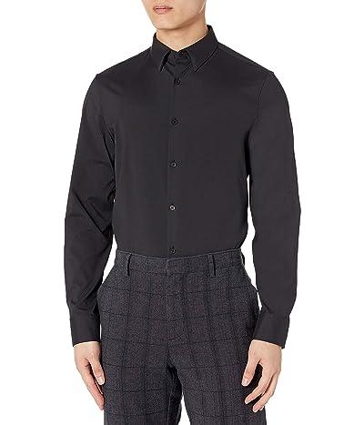 Calvin Klein Move 365 Athleisure Logo Crewneck T-shirt Long Sleeve