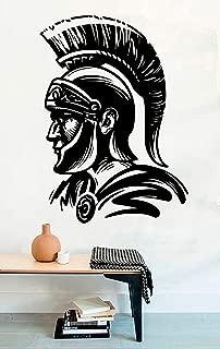 Advanced store Cool Spartan Army Helmet Wall Vinyl Decals Roman Soldier Ancient Warrior Stickers Vinyl Murals MK7822