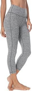 "QUEENIEKE Women 22"" Yoga Capris Running Pants Workout Leggings"