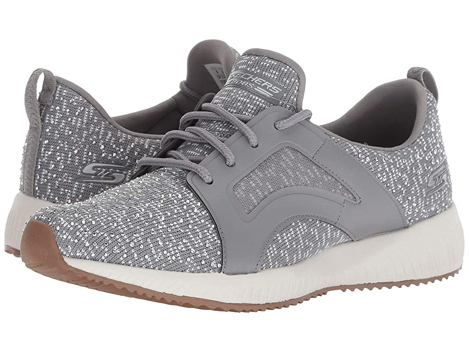 BOBS from SKECHERS Bobs Squad Sky Write (Gray/White) Women