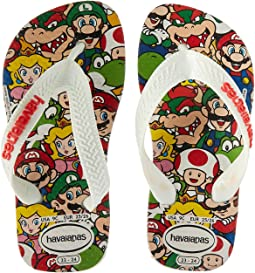 Havaianas Kids Mario Bros Flip-Flop (Toddler/Little Kid/Big Kid)
