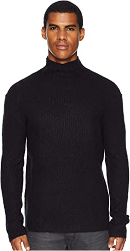 Long Sleeve Cable Mock Neck Y2552U3