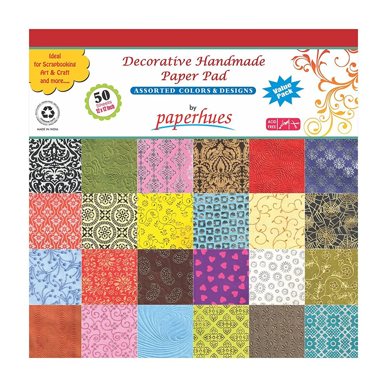 Paperhues Decorative Scrapbook Papers 12x12