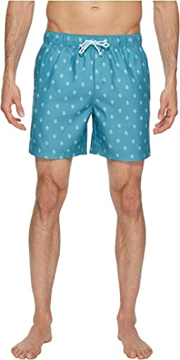 Original Penguin - Penguin Print Swim Trunk